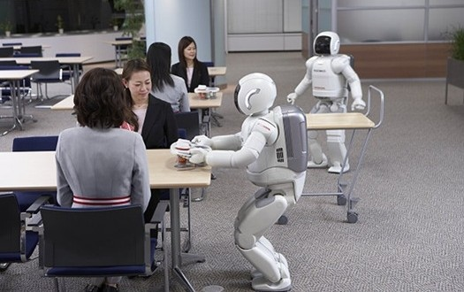 See a hotel in Japan run by robots