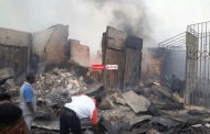 270 shops destroyed as fire guts Jos terminus market