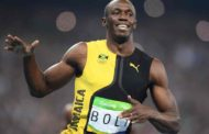 Bolt wins third straight 100m Olympic Gold