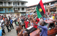 Biafra Day: IPOB members storm Onitsha, insist on sit-at-home order