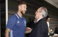 Real Madrid President threatens to sack Sergio Ramos