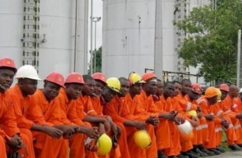 Oil workers walk out over salary arrears
