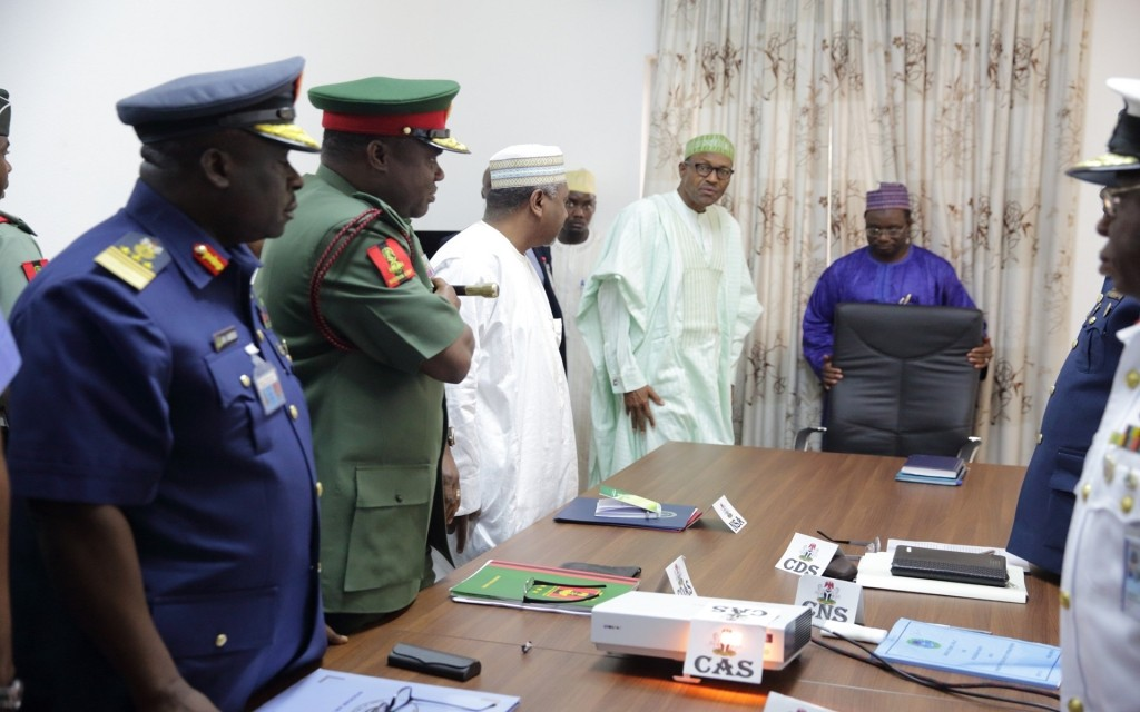 BREAKING: Buhari sacks service chiefs