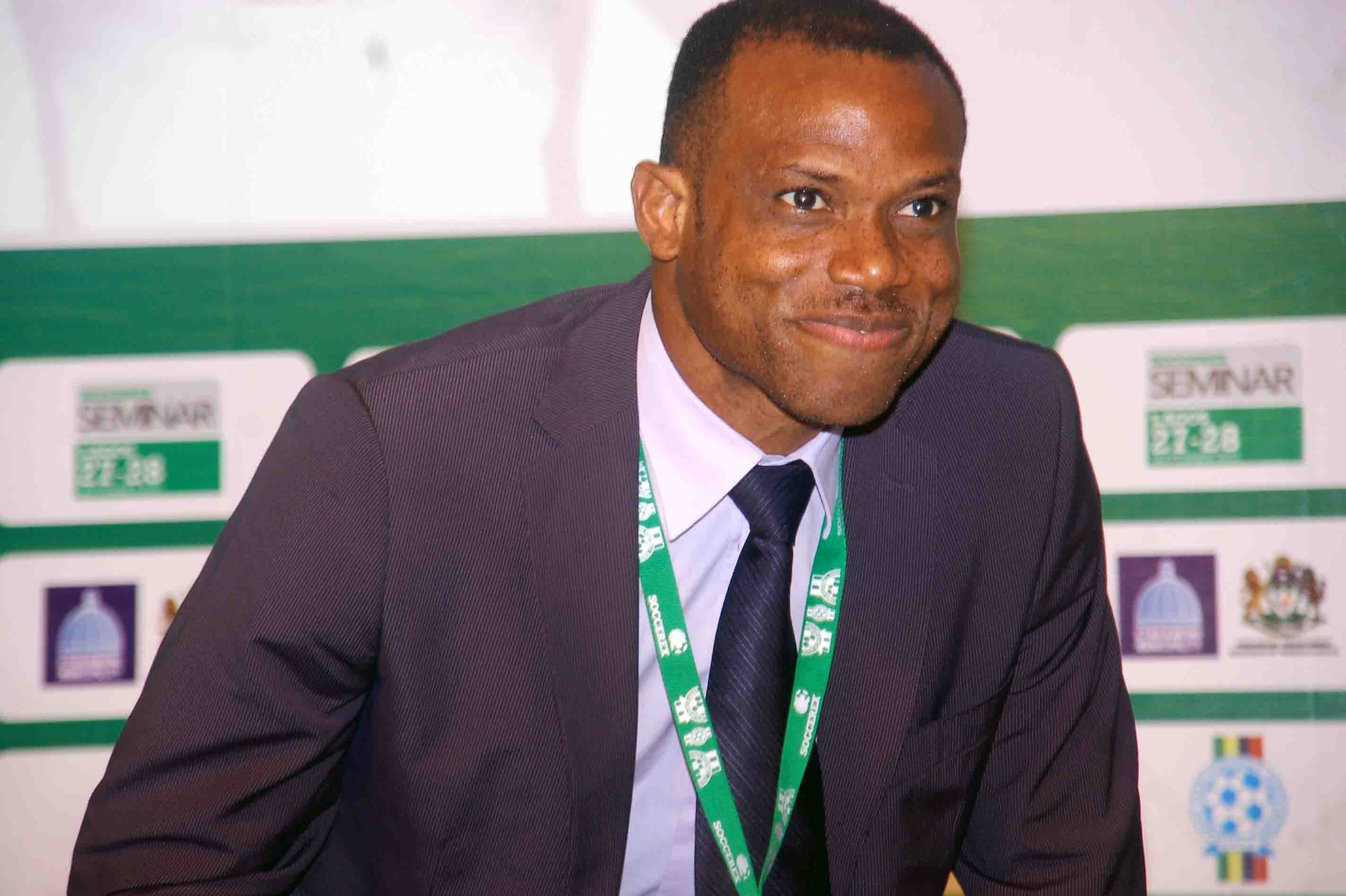 NFF confirms Oliseh as Super Eagles coach, approves Dutch assistant