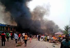 Bomb blasts rock ECWA Church in Jos