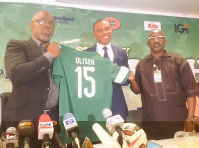 Oliseh gets N15m advance