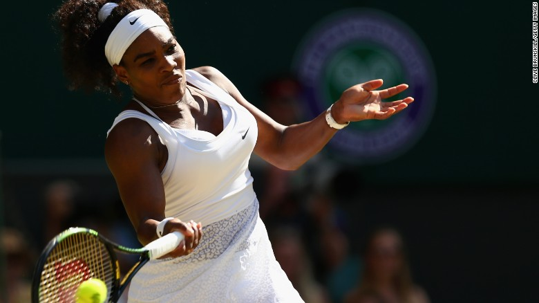 Serena Williams wins her sixth Wimbledon title