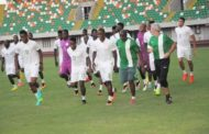 Rohr, Mikel Obi, Victor Moses, Iheanacho, other players training in Uyo