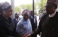 PHOTOS: Dangote, governors, PDP lawmaker visit Buhari in US