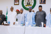 Buhari visits Jos, urges security chiefs to be vigilant