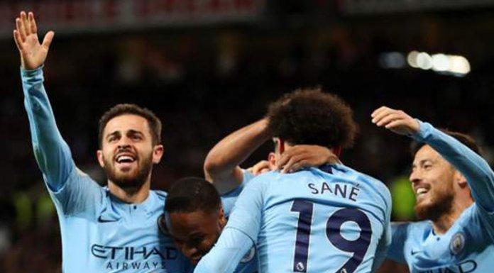 Man city beat Man United