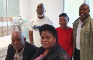 Christian Chukwu arrives London for treatment