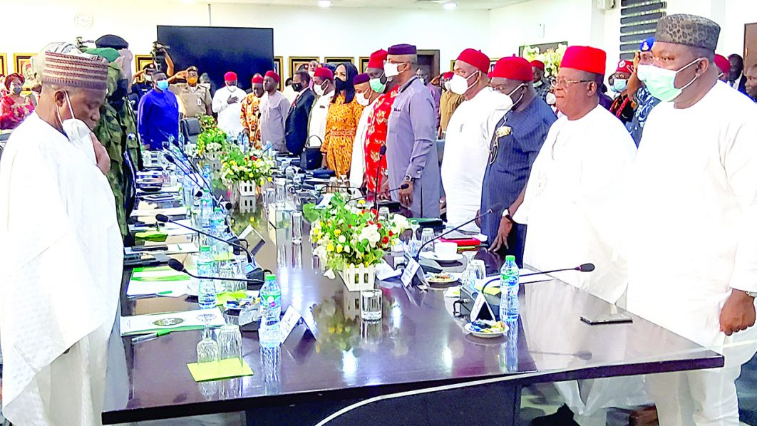 FG, Southeast leaders meet, reject agitation for secession