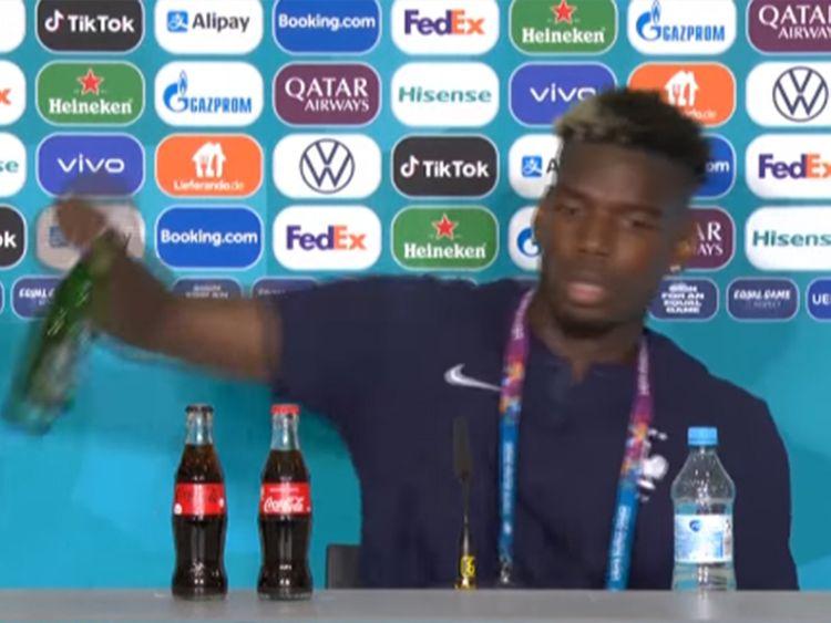 Pogba embarrasses Heinekens beer makers at press confab