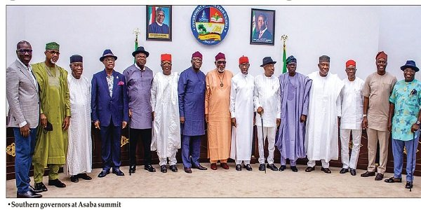 Southern governors to meet in Lagos