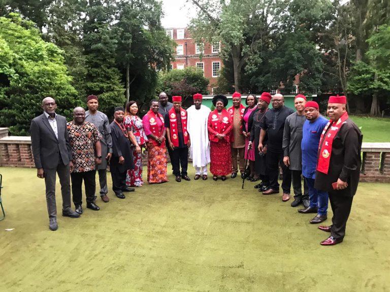 Igbo, Yoruba leaders meet Nigeria's UK envoy in London