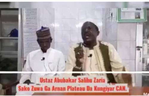 Islamic Cleric Threatens To Kill Many Christians In Plateau State If Muslims Are Attacked Again